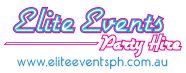 Elite Events party hire logo